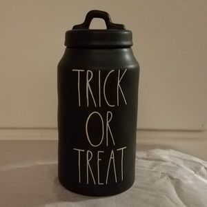 Rae Dunn trick or treat canister